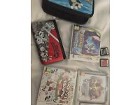 Nintendo DS XL special edition with lots of games + Pokemon moon