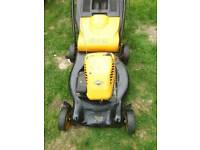 McCulloch petrol lawnmower self propelled