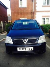 Vauxhall Meriva 1.6 9months MOT EGR fault