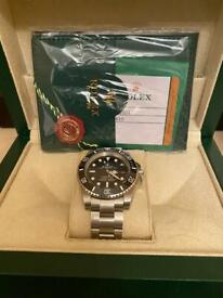 WATCH REPLACEMENT NEW BOX CASE WITH PAPERWORK AND ACCESSORIES.