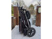 Mountain Buggy +one double buggy