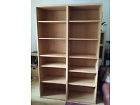 Bookcase - Oak veneer