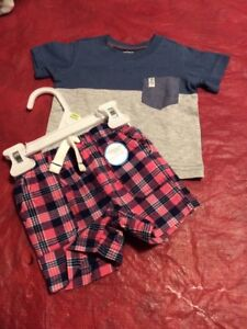 Baby boy outfits set 3months new with tags