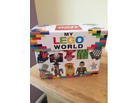My Lego World, box of 25 books, brand new