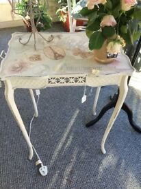 decorative Annie Sloane paunted table