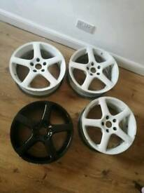 NEED GONE... Rare ALLOY WHEELS 17 INCH 5 STUD
