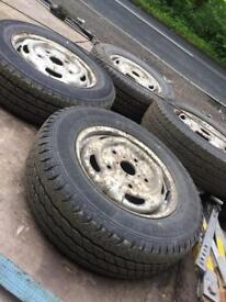 Transit wheels and tyres