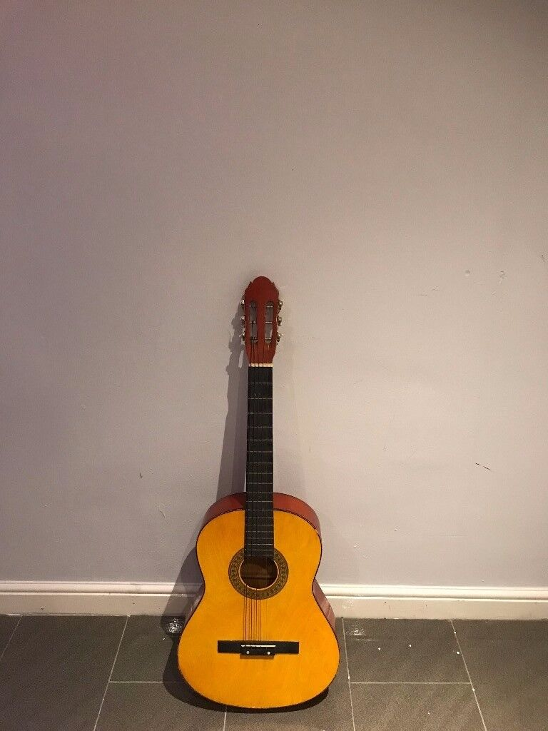 CLASSIC FENDER ACOUSTIC GUITAR NATURAL 6-string