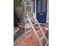 ABRU 3 way ladder. First class condition