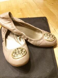 Tahari flats (gold and tan shoes) size 6.5