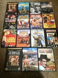 A selection of 15 mens DVD's