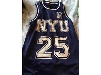 NYU Basketball Vest
