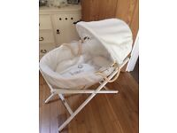 Baby Moses Basket. Nearly new. Mamas and papas. Excellent condition.