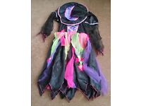 11-12 Witch Halloween Costume ONLY £3