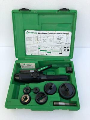 Greenlee 7906sb Quick Draw Hydraulic Punch Set 12-2 Conduit Sizes