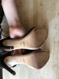 Marc Ellis black heels
