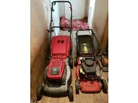 Perfect working order 2 petrol lawnmoer sovereign kss40a mountfield sp470 no texing