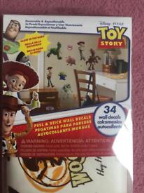 Toy Story wall decal stickers