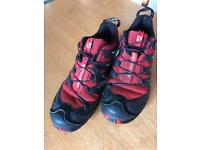 Salomon XA Pro 3D trail shoes. Size 10. Trainers running shoes.
