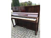 Lirika walnut gloss upright piano | BelfastPianos | Free delivery | Belfast