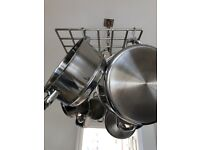 Ceiling Pan Rack - Priced to sell at only £10