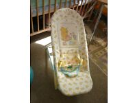 Baby Bouncer Chair / Winnie The Pooh / Mother Care*