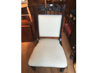 2 x Parlour Chairs - Just been Upholstered- £95 each chair
