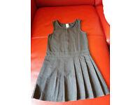 grey school dress. Size 8-9 years