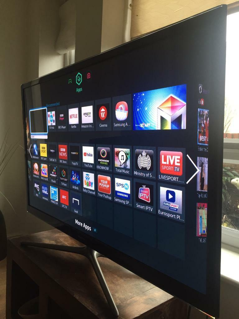 50 inch samsung smart tv in excellent condition with built in freeview in liverpool city. Black Bedroom Furniture Sets. Home Design Ideas