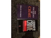 Criminology books