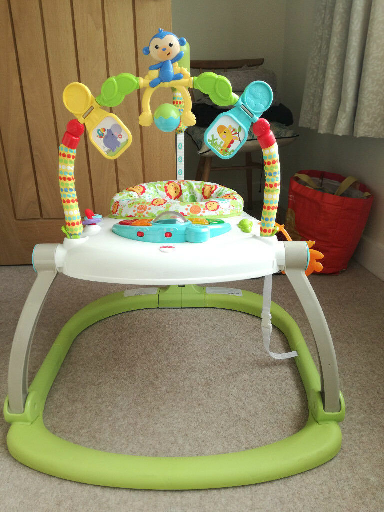 7f0f81dd278e FISHER-PRICE RAINFOREST FRIENDS SPACE SAVER JUMPEROO ...
