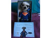 Limited edition Meerkat Superman toy