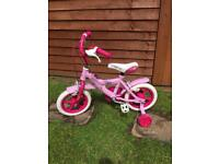 Pink Girls Bike (12 inch frame)