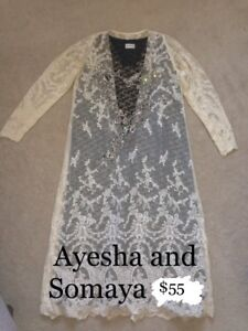 Ayesha and Somaya 2 piece Shirt only
