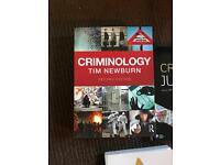 Criminology with Psychology year 1-3 book set