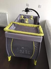 Babystart large bassinet travel cot