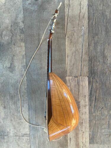 Old italian MANDOLIN Fernando Del Perugia 1900 antico mandolino scuola Vinaccia