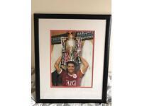 Ronaldo Man United Signed photo with proof