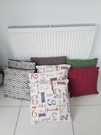 Selection of 8 cushions