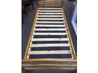 Single pine beds 2ft 6""