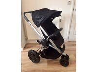 Quinny BUZZ Xtra 3 Pushchair Stroller Black RRP £450