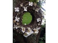 Butterflies and Orchids Mirror