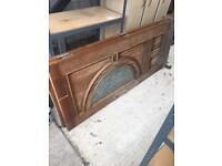 Front Oak Hardwood Doors