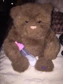 Furreal interactive bear cub