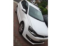 Volkswagen polo 1.2 match 2011 year of manufacture, 51488 miles, White, Mot till 2017