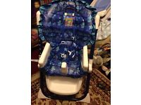 Fisher price multi position sea themed high chair