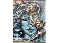 Caricatures, tattoo sketches, murals, portraits