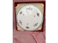 VARIOUS BONE CHINA PLATES INCLUDING - AYNSLEY, SPODE, AND PORT MERION.