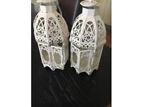Off white lanterns