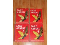 42 vintage Eagle Annuals for sale as a whole lot or separately